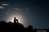MR, Man in Contemplation, Outdoors, Canyonlands National Park, Utah