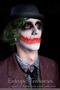 """The Joker"" - Alana Sage Make-up Artistry HND graded unit. ( 2J2U0562 / 25-Apr-10 )"