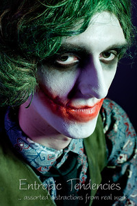 """The Joker"" - Alana Sage Make-up Artistry HND graded unit."