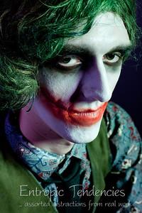 """The Joker"" - Alana Sage Make-up Artistry HND graded unit."