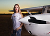 Are these the most beautiful set of eyes in all Aviation??   Model/Pilot Savanah posing by her plane.  She had just completed her first solo flight earlier that week!     ............................... ..................................  Pilot/Model: @Savanah_Ritch  @NCaviatrix   Plane:  #Cessna150   Lighting Assistant:  @dwsphotographer   ..................................      ...................................