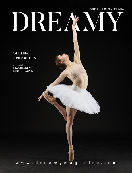 Proud to have my work grace the cover of yet another Magazine.  You don't usually see Dancers in Fashion Magazines....but I happen to work with so many really photogenic Ballerinas!  Photo taken in my studio with Ms. Selena Knowlton.   Dancer:  @selenaknowlton   Pointe Shoes:  @gaynorminden   Publication:  @dreamymag  ..................................