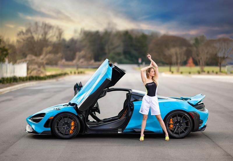 No bad photos were taken on this day!   ............................................  Shot for:  @nc.automodels   Model:  @laura_4031 Coordinator: @melissa.xo.renee  Stylist: Sarah DeCouto  Videographer:  Edgar Olvera   Car: McLaren 765LT  Dealership:  @mclarenclt    Owner:  @airlinerphoto1   Location: Bosworth Customs  ................................................................