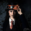 Finishing up the last of the Steampunk Inspired shoot in my studio with some new models.  Big thanks to my buddy @Motherorel for the great job with the clothing and accessories!  ..........  Models: @mbeauca57  @LadyDiamondsbmw   ........... MUA: @BeautyBeyondtheBest   ...........  Photo by:  @RickBeldenPhotography .............   .............    .........