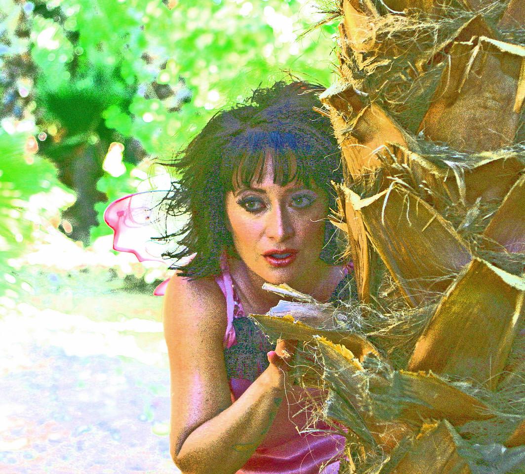 Fairy Captured on Camera In Orange Grove