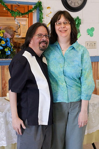 Craig and Annette Harrison. Wanda and Willie Moeller's 50th Wedding Anniversary Celebration, Gila Mt. RV Park, Yuma, AZ. Mar. 10, 2012.