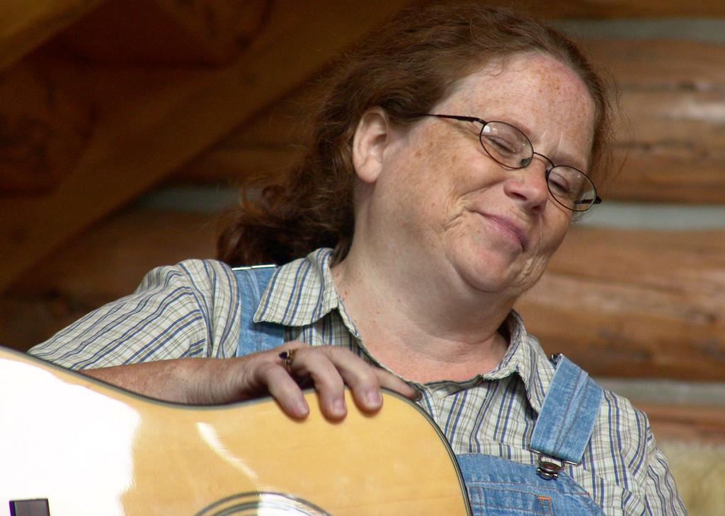 Lynn, in a musical moment