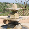 This is the fountain at the Wild Coyote Winery in Paso Robles.