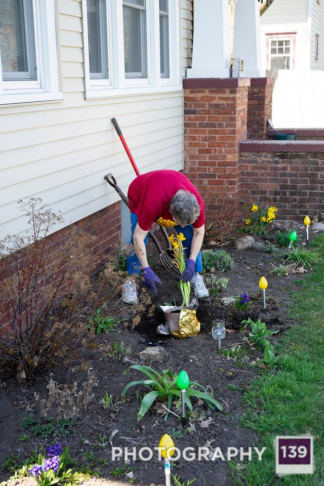 Mom Planting - 2020