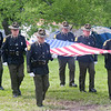 Color guard, John Booth Memorial 2011