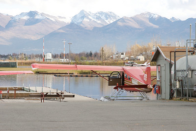 Anchorage has a lot of float planes.