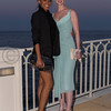 Soiree Orange au Monte Carlo Bay. Iliona Blanc et Diane Neal.