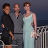 Soiree Orange au Monte Carlo Bay. Jean Marc Barr et son amie Iliona Blanc et Diane Neal.