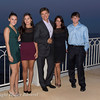 Soiree Orange au Monte Carlo Bay. Dr OZ et sa famille.