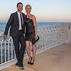 Soiree Orange au Monte Carlo Bay. Rebecca Hampton et Joakim Latzko.