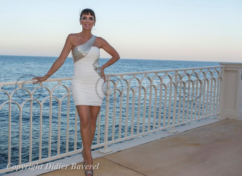 Soiree Orange au Monte Carlo Bay. Sandra Vidal.