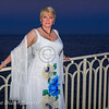 Soiree Orange au Monte Carlo Bay.  Alison Arngrim.
