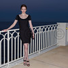 Soiree Orange au Monte Carlo Bay. Bitsie Tulloch.