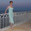 Soiree Orange au Monte Carlo Bay. Diane Neal.