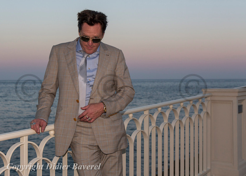 Soiree Orange au Monte Carlo Bay. Michael Madsen.