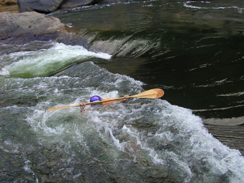 Sarah @ Halls of Karma<br /> New River, West Virginia<br /> Photo by James Hubshman