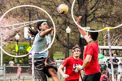 Emerson College Quidditch Match