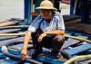 Fuel barge operator, Bai Chay harbor, Vietnam