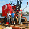 The B (for barge) team that built the seawall at Boynton Isles 2006-2007