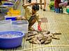 Fish vendor, Cho Ben Thanh market, Saigon