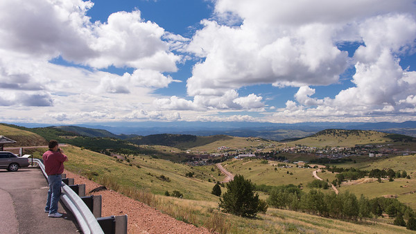Looking Toward Cripple Creek ~ Colorado