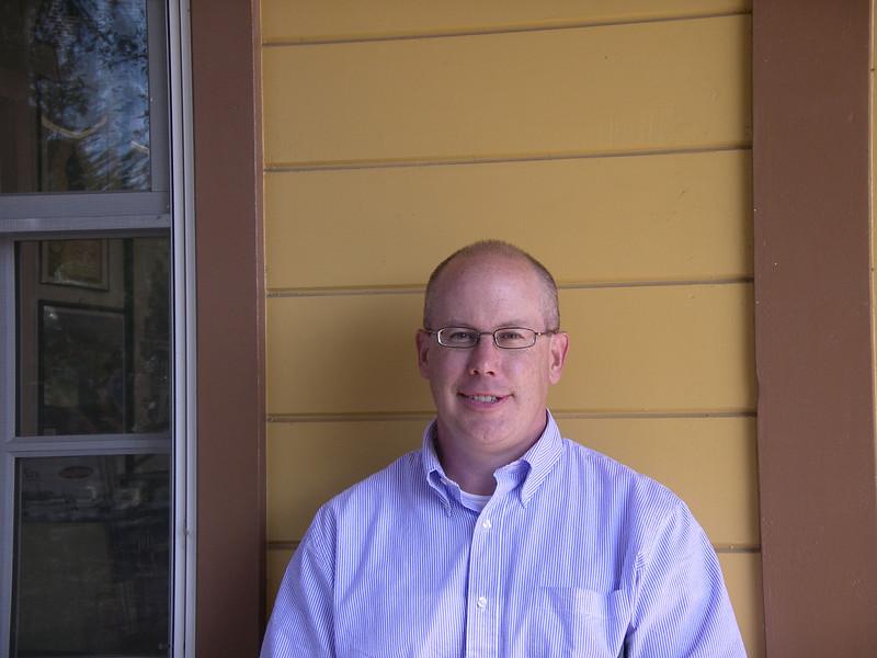Trustee and volunteer John Hutchinson