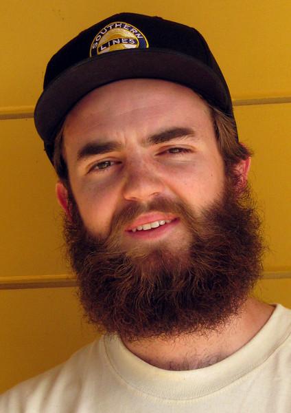 Intern Devon Blunden, 2008