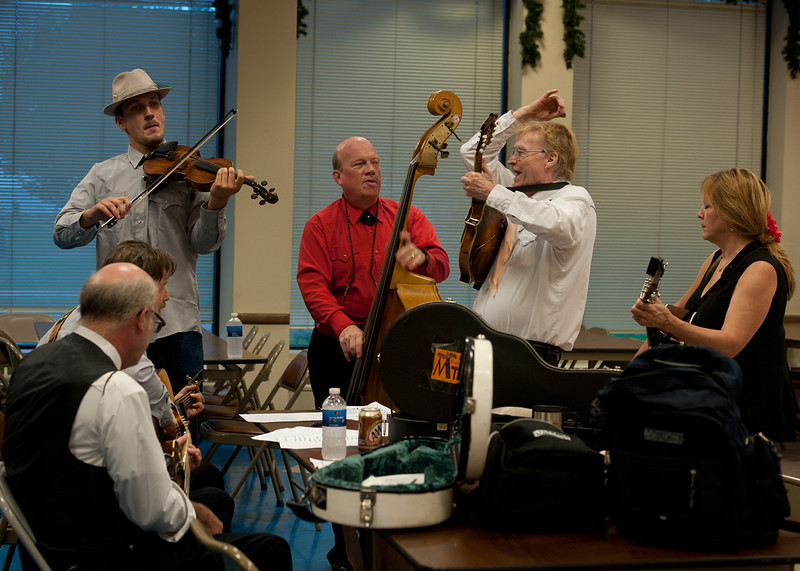 Rehearsal - 2010 Long Island Bluegrass Festival