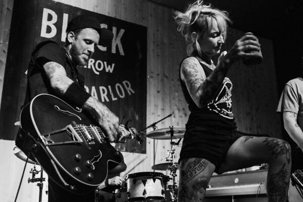 Punk Night at the Black Sparrow Music Parlor
