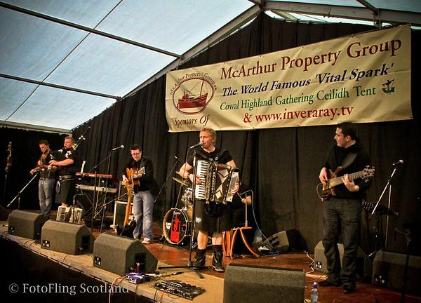 Skerryvore Skerryvore performing at Cowal Gathering 2009
