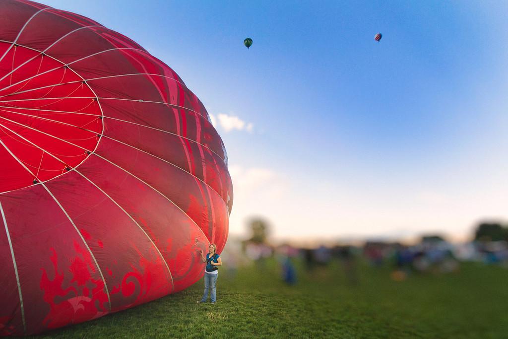Holley and the Maverick Balloon