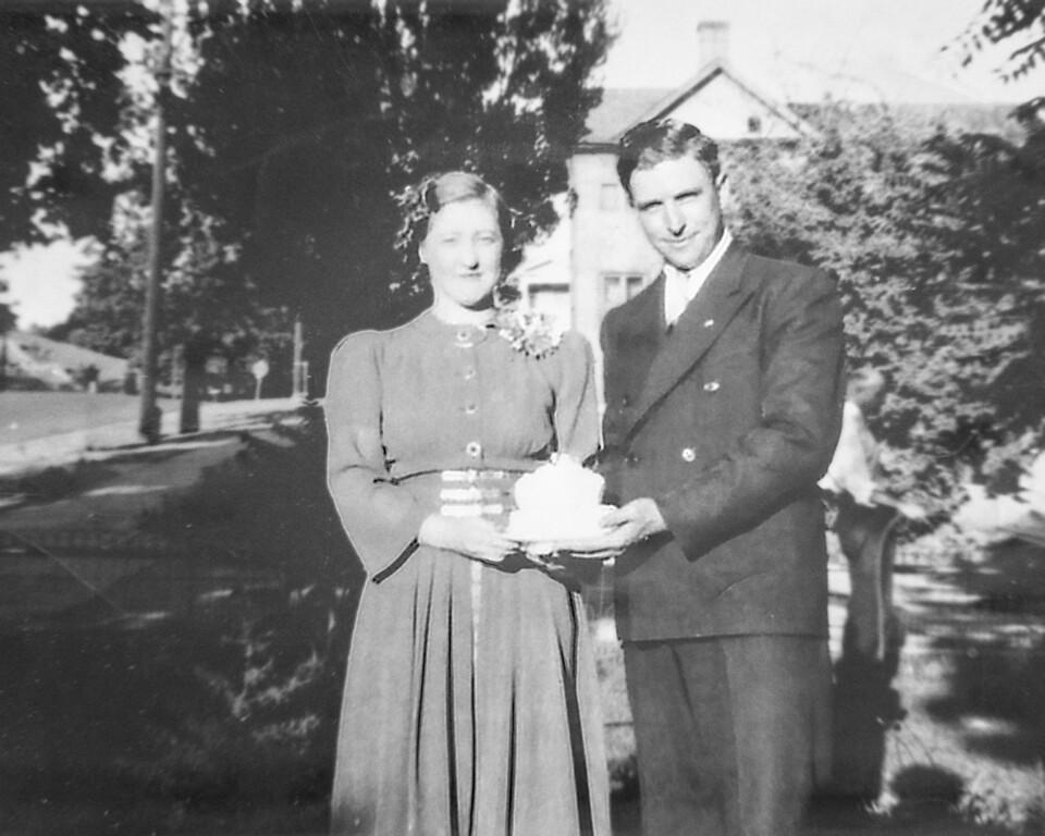 Grandpa and Grand ma