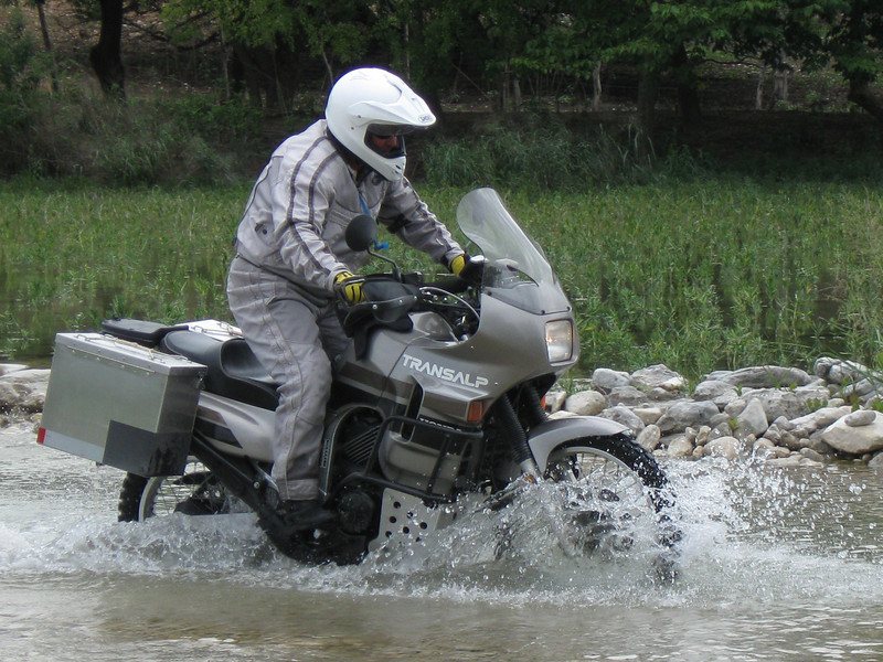 Rick M and his Transalp, Beyond Epic ride, Sep 2008