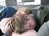 My kids are not really kids anymore but they still sleep in the car.