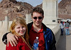 At Hoover dam.