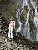 Helen by Palisade falls near Bozeman Montana.