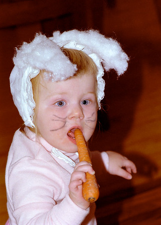 Helen in her first Halloween costume.