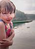 Helen swimming Cochrane Ontario.