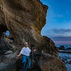 Taking sunset photos at Montage Beach