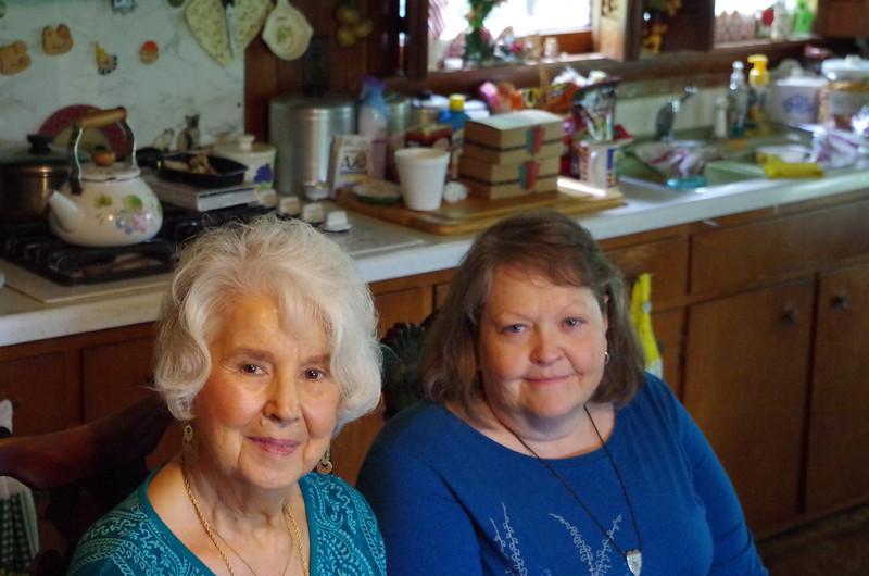 Mom & Miss Debbie.