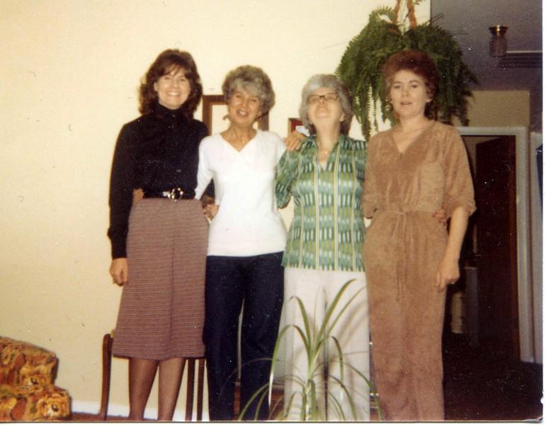 Mom & three daughters