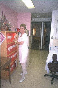 Nurse at Cassellholme North Bay Ontario 1994