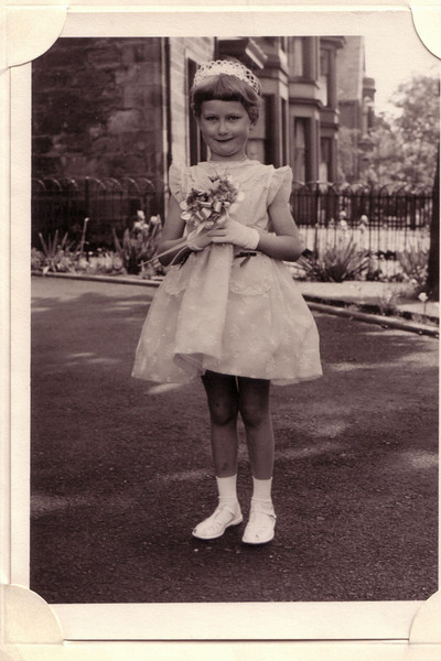 Mary, Age  four, Janets wedding