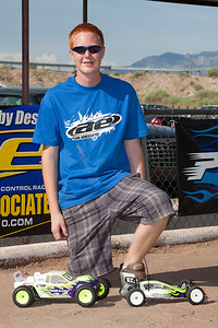 Happy day! Kyle had just won the ROAR National Championship with his truck!