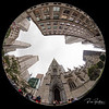 Here is a unique perspective you don't see everyday.  Shot this with a Canon 8mm Circular Fisheye lens outside of the beautiful St. Patricks Cathedral in NYC.  @stpatrickscathedral   Photos by:  @RickBeldenPhotography   .................